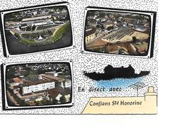 78 CONFLANS SAINTE HONORINE Cpm Multivues - Conflans Saint Honorine