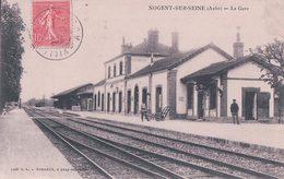 France 10, Nogent Sur Seine, Chemin De Fer, La Gare (954) - Nogent-sur-Seine