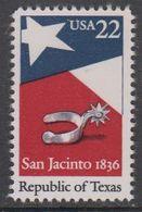 USA 1986 Republic Of Texas 1v ** Mnh (43118) - Verenigde Staten