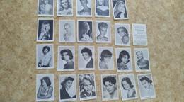 Image D'album Du Chocolat CANTALOUP - PERPIGNAN - 21 Photos Vedettes De Cinéma - Sammlungen