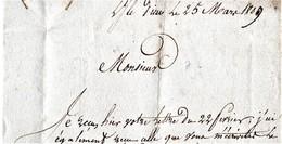 ILE D'YEU VENDEE 25 MARS 1809 L ILE DIEU 79 St GILLES SUR VIC - 1801-1848: Précurseurs XIX