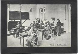 CPA Machine à écrire Circulé Typewriter Belgique THILDONCK - Industry