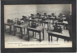 CPA Machine à écrire Non Circulé Typewriter Argenton Sur Creuse - Industry