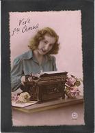 CPA Machine à écrire Non Circulé Fantaisie Sainte Anne - Industry