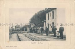 Claira La Gare Locomotive Train Chemin De Fer Saint-Laurent-de-la-Salanque 66 Pyrénées-Orientales France - Autres Communes