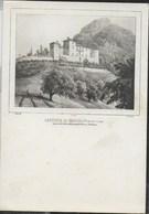 CASTELLO DI CHATILLON - RIPRODUZIONE DI STAMPA - SCRITTA E DATATA 1938 - Castelli