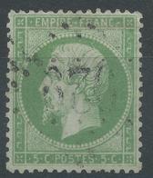 Lot N°48980  Variété/n°20, Oblit GC 929 Châteaubriant, Loire-Inférieure (42), Point Aprés Le E De EMPIRE, Filet SUD - 1862 Napoleon III