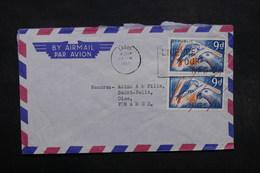 NIGERIA - Enveloppe Commerciale De Lagos Pour La France En 1969 , Affranchissement Plaisant - L 32072 - Nigeria (1961-...)