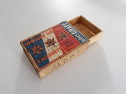 Boite D'allumettes Française Compagnie Suédoise D'allumettes BIERES GRAFF - French Matchbox - Cajas De Cerillas (fósforos)
