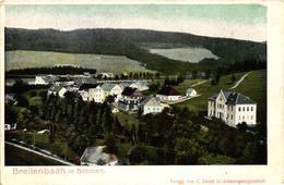 Czech Republic, Potucky, Breitenbach In Böhmen, View, Old Postcard Pre. 1905 - Czech Republic