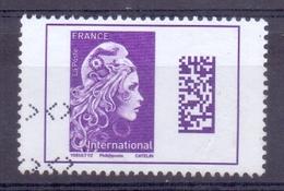 Frankrijk - 2018 -  Yv.  4616  X 3 - Marianne I' Engagée- International - Gestempeld - 2018-... Marianne L'Engagée