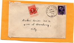United States 1939 Cover Mailed Postage Due - United States