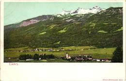 Austria, Lans, Tirol, View, Old Postcard Pre. 1905 - Austria