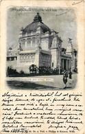 Austria, Vienna, Wien, 1898, Jubilaums-Austellung, Pavillon Der Stadt Wien, Old Postcard - Other