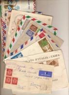 (St.Post.).Israele.Lotto 35 Buste,FDC,Raccomandate,Posta Aerea,ecc. (65-19) - Israel