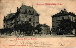 Austria, Korneuburg, Niederösterreich, Erzherzog Albrecht-Kaserne, Old Postcard - Korneuburg