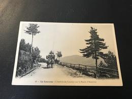 44 - LA LOUVESC - L'Arrivée Du Courrier Sur La Route D'Annonay - 1909 - La Louvesc