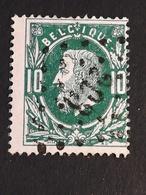 COB N ° 30 Oblitération L203 La Hulpe - 1869-1883 Léopold II