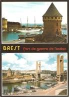 29 - Brest - Port De Guerre De L'océan - Multivues (2) : La Tour Tanguy (XIVe) Et Le Pont De Recouvrance - éd. Jack - Brest