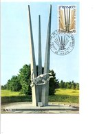 CARTE MAXIMUM 1975 CREATION DU SERVICE DE DEMINAGE - 1970-79