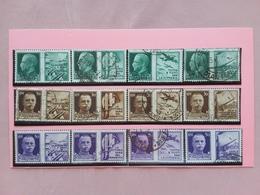 REGNO 1942 - Propaganda Di Guerra Nn. 1/12 Timbrati + Spese Postali - 1900-44 Vittorio Emanuele III