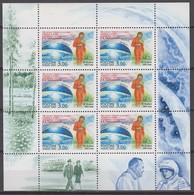 Russia 20.05.2003 Mi # 1088 Kleinbogen, 40th Anniversary Of The First Woman Flight Into The Outer Space MNH OG - Blocs & Hojas
