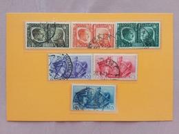REGNO 1941 - Fratellanza Italo-tedesca - Nn. 452/57 Timbrati Completa + Spese Postali - 1900-44 Vittorio Emanuele III