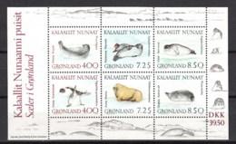 Groenlandia Nuovi:  BF  N. 3 - Blocchi