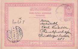 TURQUIE 1911   ENTIER POSTAL/GANZSACHE/POSTAL STATIONERY   CARTE - Storia Postale