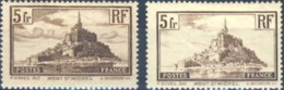 NB - [43058]TB//*/Mh-c:53e-N° 260 + 260a, Les Deux Types - Francia