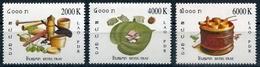 287 - Laos 2004  YT 1570-72 ; Mi# 1946-48 **  MNH  Betelnut - Laos