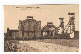 10 MARCINELLE  Charbonnage Du Cerisier En Haut De La Route De Beaumont - Charleroi