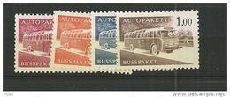 1963  MH Finland, Mi 10-13x, Postfris - Finnland