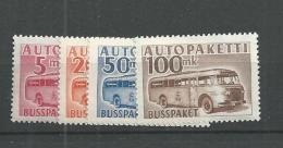 1952 MH Finland, Autobus 6-9 - Finnland