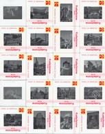 Lot De 44 Diapositives Couleurs (dia's) Du Corso Fleuri (bloemencorso) De Zundert (Pays-Bas) Sept 1980 - Dias