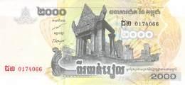 2000 Riels Banknote Kambodscha 2007 UNC (I) - Cambodia