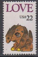 USA 1986 Love / Dog 1v ** Mnh (43118B) - Verenigde Staten
