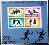 MMA-MSP 08062019 MINT PF/MNH ¤ KENYA 1984 BLOCK ¤ OLYMPIC GAMES LOS ANGELES 1984 - Zomer 1984: Los Angeles