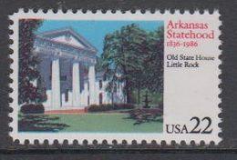 USA 1986 Arkansas Statehood 1v ** Mnh (43118D) - Verenigde Staten