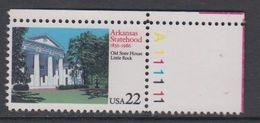 USA 1986 Arkansas Statehood 1v  (corner) ** Mnh (43118F) - Verenigde Staten