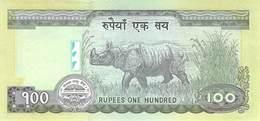 100 Rupies Nepal UNC 2012 - Nepal