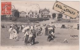 17 Pontaillac - Cpa / La Plage Et Les Villas. - Altri Comuni