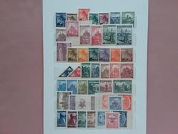 OCCUPAZIONE TEDESCA - BOEMIA E MORAVIA Anni '39/40 - 95 Francobolli Differenti Nuovi ** × 0.05 Caduno + Spese Postali - Occupazione 1938 – 45