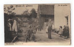 St-Genesius-Rode  Rhode-St. Génèse  Jeu De Quilles 1907 - Rhode-St-Genèse - St-Genesius-Rode