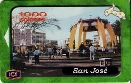 TARJETA TELEFONICA DE COSTA RICA. (CHIP). 05.01 SAN JOSÉ. 034. - Costa Rica