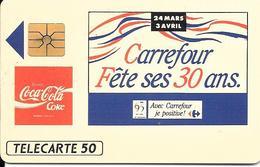COCA COLA  CARREFOUR 1993 E 618 - France