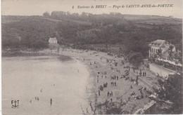 Plage De SAINTE-ANNE-du-PORTZIC Aux Environs De Brest - TBE - France