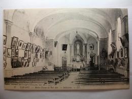 Carte Postale Tarare (69) Notre Dame De Bel Air - Intérieur ( Petit Format Noir Et Blanc Correspondance 1915 ) - Tarare