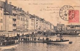 Toulon (83) - Vue Générale Du Quai - Toulon