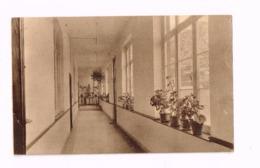 Pensionnat Des Soeurs De Marie.Un Corridor.Expédié à Les Waleffes (Waremme) - Hannut